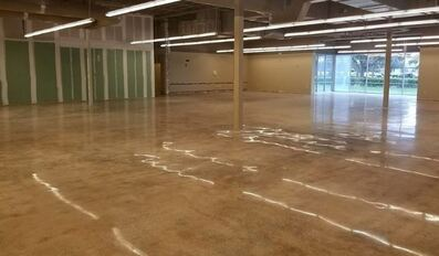 Picture of concrete sealing